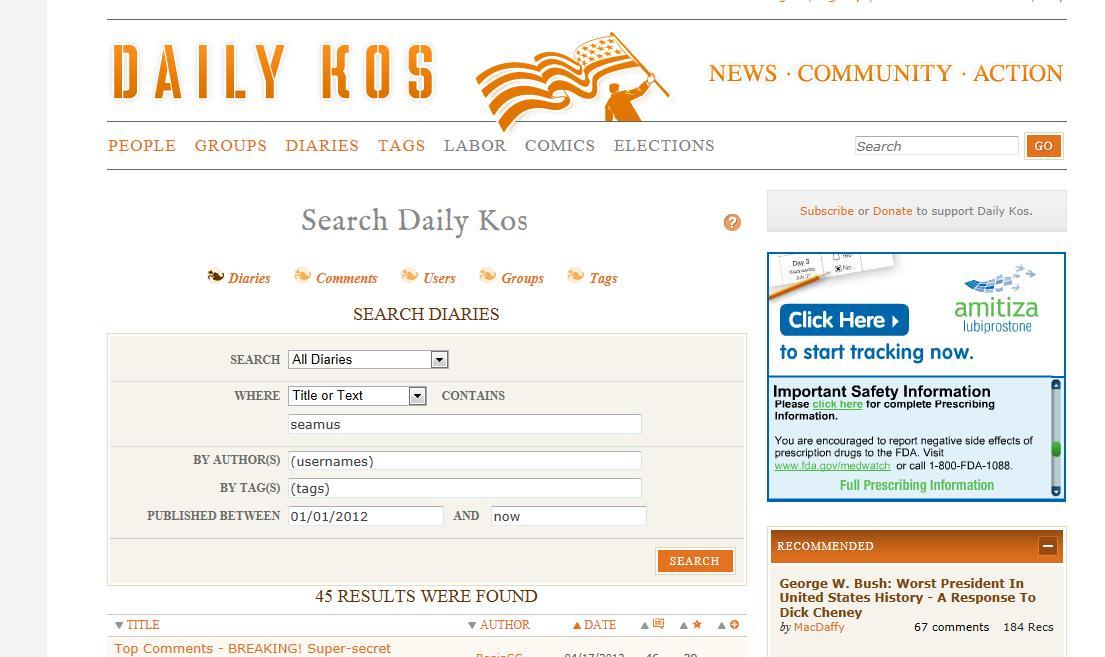 Political Judo | cosmoscon Daily Kos