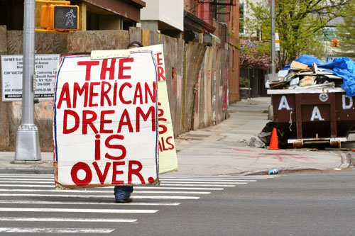 Poverty and american dream