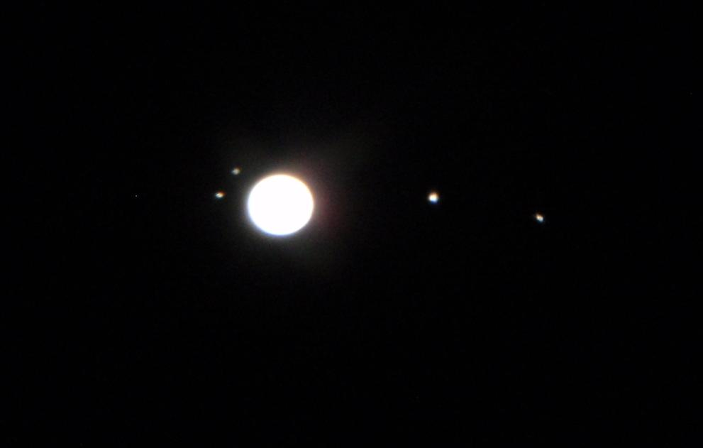 moon viewing jupiter tonight - photo #23