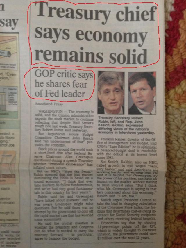 conflicting econ headlines