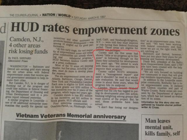 hud empowerment zones