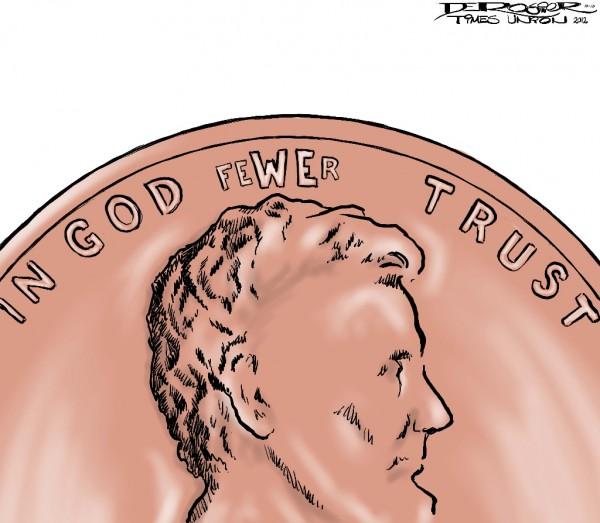 in god fewer trust