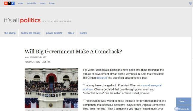 npr big govt headline