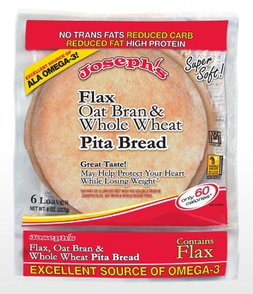 josephs' pita bread